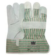 A-kwaliteit splitlederen handschoen Maten 10