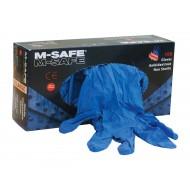 M-Safe nitrile 3275 handschoenen, gepoederd, reliëf Maat 9