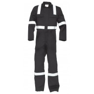HaVeP 5safety overall FR-AST 2033, donkergrijs Maat 46