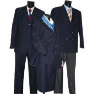 Uniformpantalon blauw Maat 26 blauw