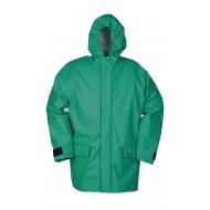 Sioen Chemflex jas 2404 Bentheim, groen Maat L
