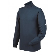 Sioen Viloft pullover met rolkraag 2692 Taranto, marineblauw Maat 3XL