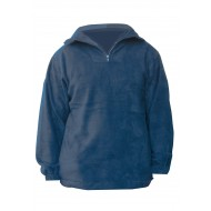 M-Wear fleecetrui Gerlos 2910, marineblauw Maat 3XL