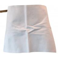 Buikschort van splitleder, 60 x 40 cm