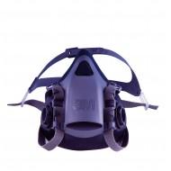 3M 7501 halfgelaatsmasker, maat S (grijsblauw)