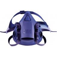 3M 7502 halfgelaatsmasker, maat M (lichtblauw)
