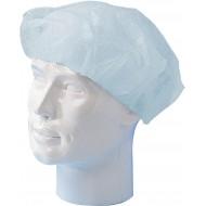Baret polypropyleen model Wokkel blauw   blauw