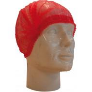 Baret polypropyleen model Wokkel rood   rood