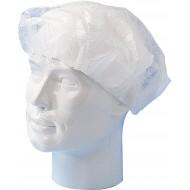 Baret polypropyleen model Wokkel wit   wit