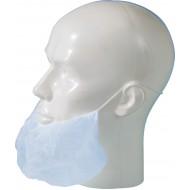 Baardmasker polypropyleen blauw   blauw