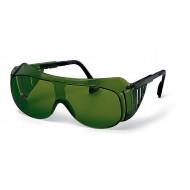 uvex lasbril 9162-045, groene ruit, beschermtint 5.0