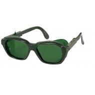 uvex lasbril 9115-025, groene ruit, beschermtint 5.0