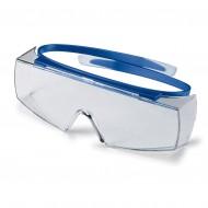 uvex overzetbril super OTG 9169-065, blauw montuur, heldere PC lens, UV 2-1,2 optidur NCH