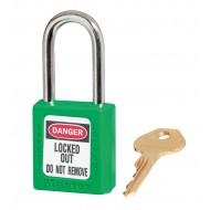 Masterlock Zenex hangslot 410 (38 mm) (410GRN), groen